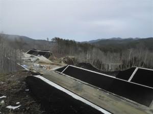 滝ノ沢北地区道路改良工事
