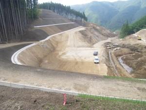 大曽根地区道路改良工事