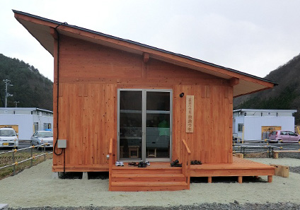 エコハウス建築(大槌町)工事