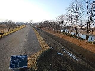 北上川上流見前地区外堤防強化工事