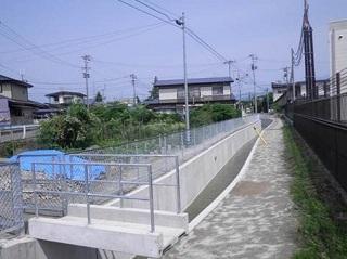 集落基盤整備事業(地域用水型)鹿妻新堰地区第11号工事