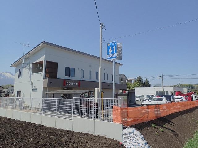 盛岡西警察署滝沢交番新築工事