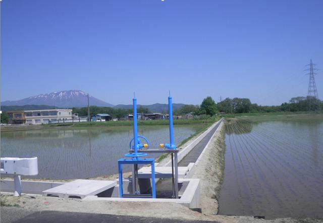集落基盤整備事業(地域用水型)太田堰地区第8号工事